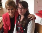 Sarah Lomax Met First Minister of Scotland
