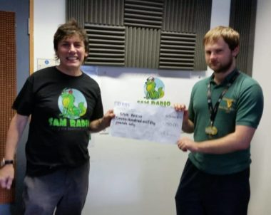 £750 Raised for SAM RADIO