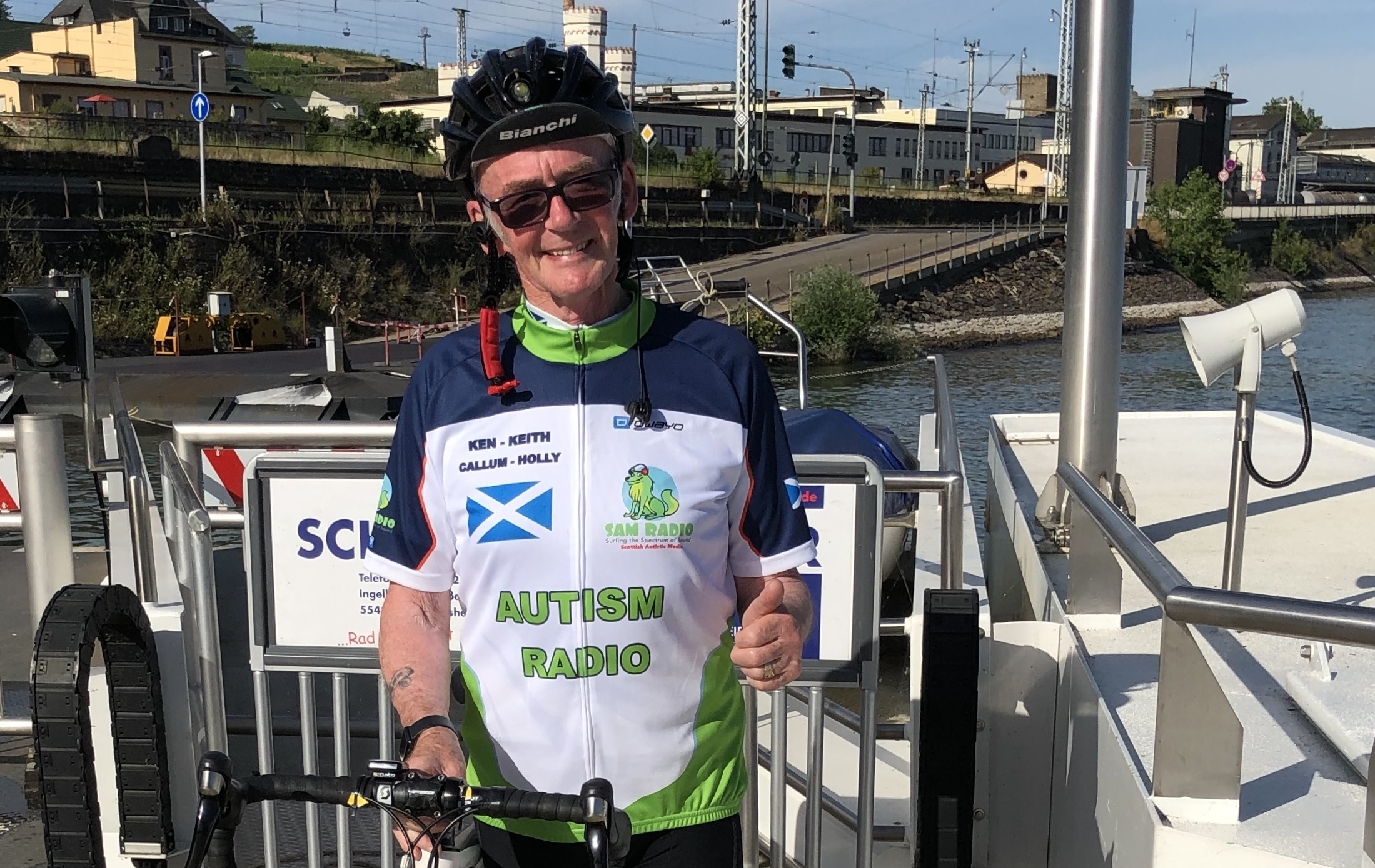 FUNDRAISING FOR SAM RADIO – 3 Generations Cycling Marathon